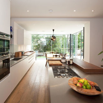 hampstead house conversion and rear extension